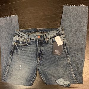 Gap distressed denim jeans